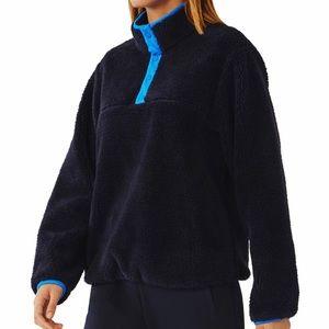 Tory Burch Sport Sherpa Pullover